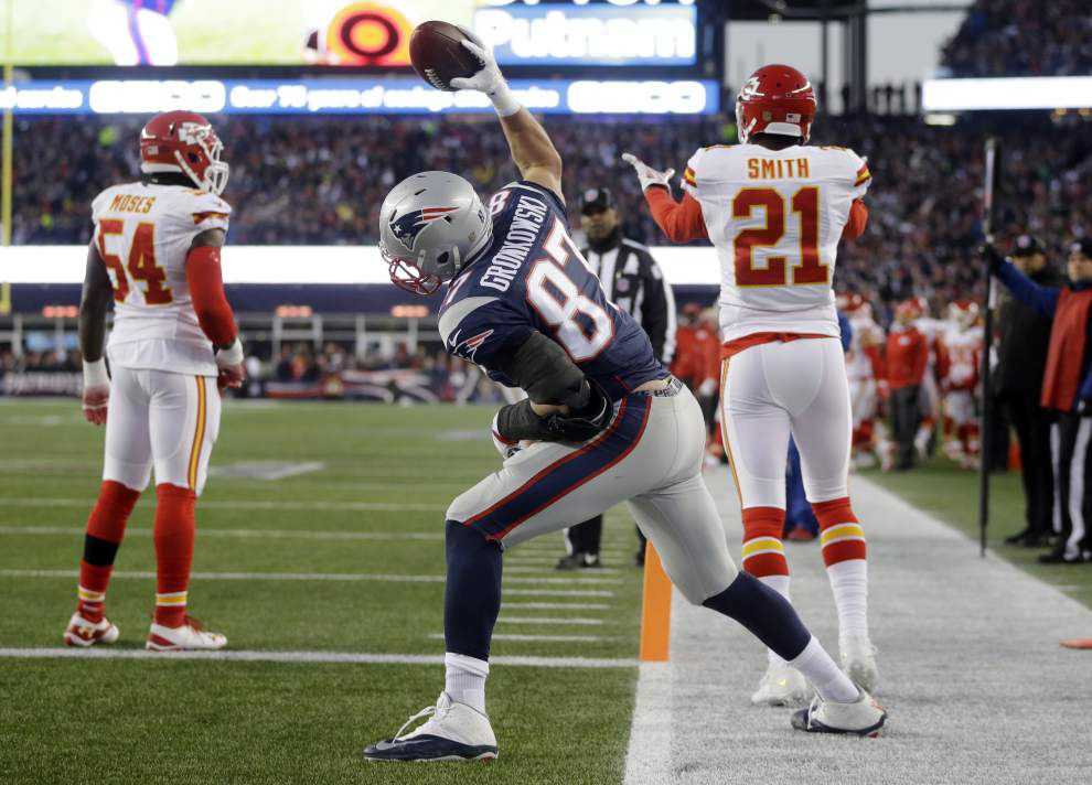 Patriots beat Chiefs 27-20 to score another spot in the AFC title game _lowres
