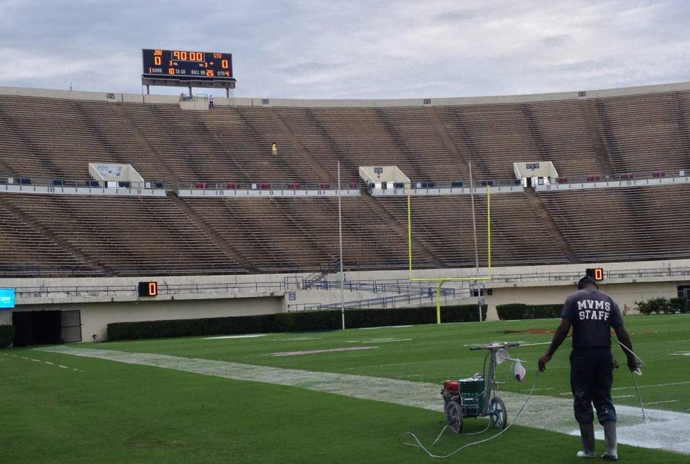 Grambling football game at Jackson State canceled because of protest _lowres