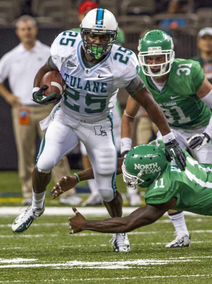 After redshirt year, Tulane's Josh Rounds back in the mix _lowres