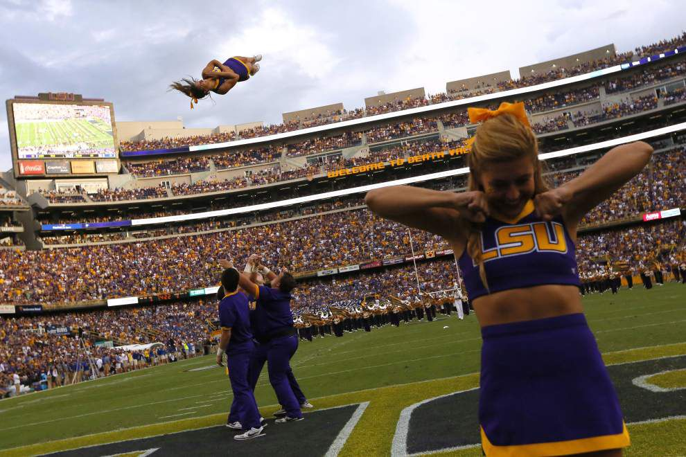 Times of interest for LSU vs. Auburn: Kickoff at 2:39 p.m. _lowres