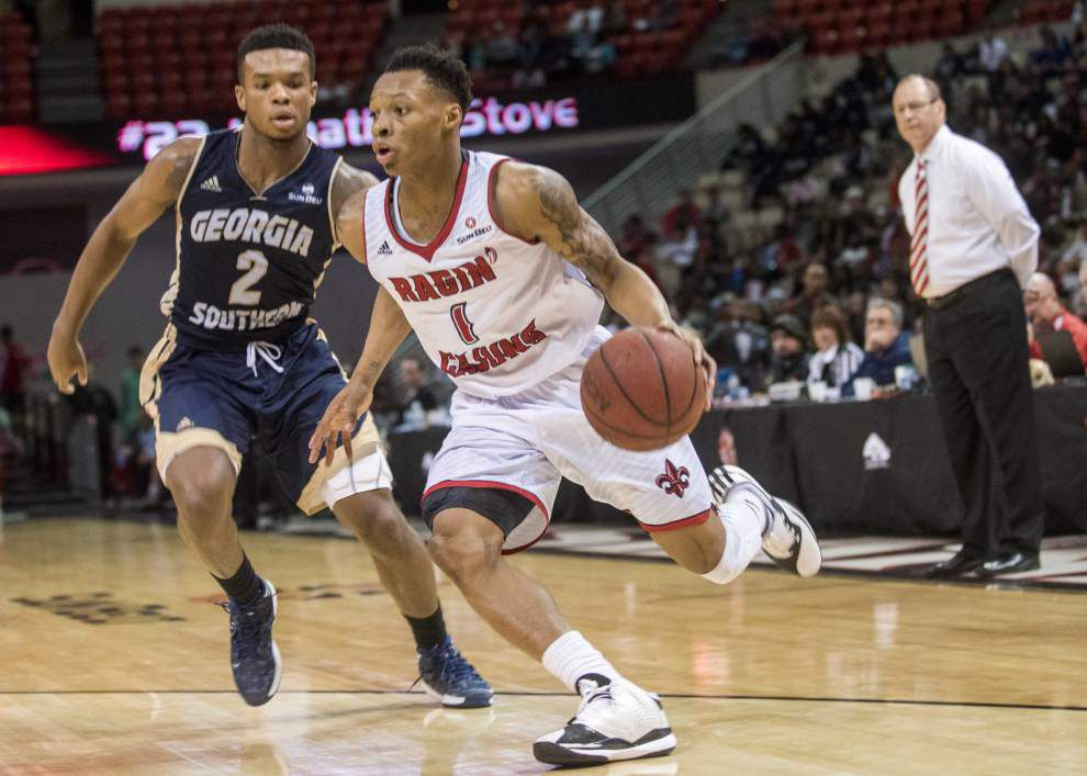 Trip to China gave Ragin' Cajuns guard Jay Wright some food for thought _lowres
