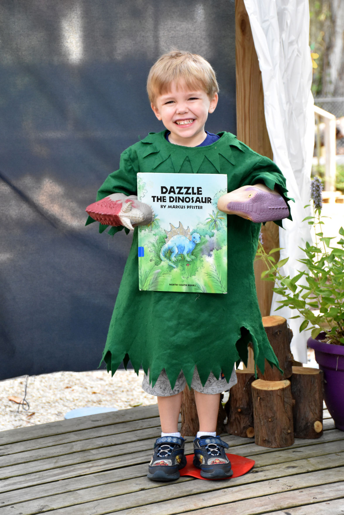 Runnels School preschoolers enjoy storybook characters on