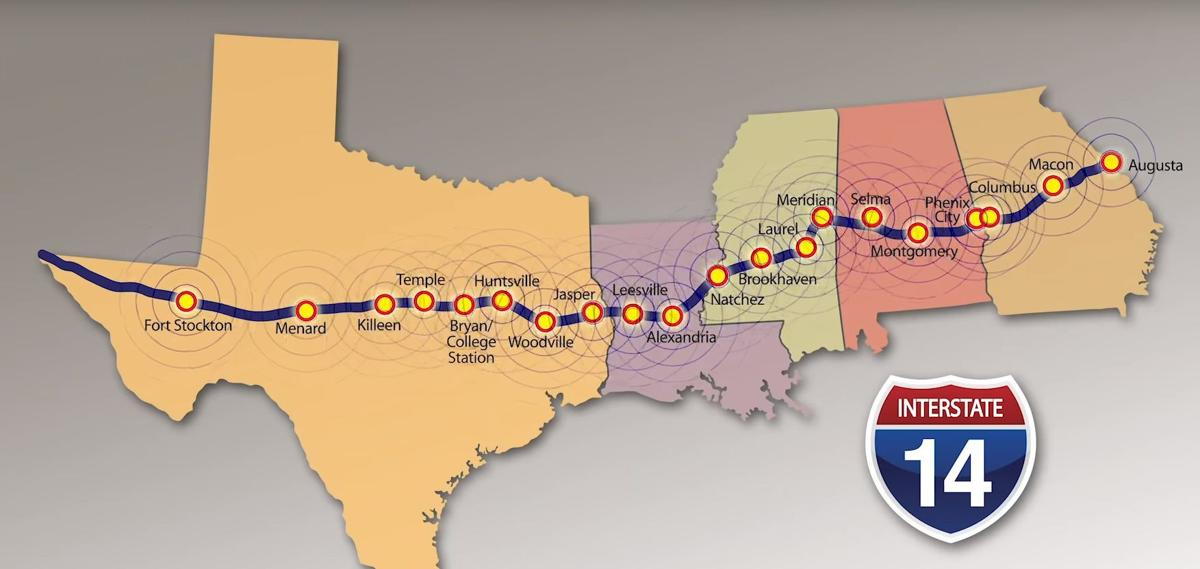 Interstate 14 proposal