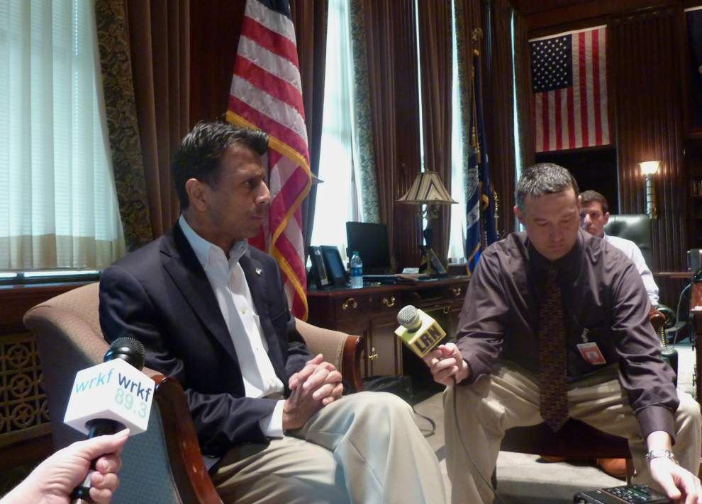 Louisiana Gov. Bobby Jindal, in face of budget cuts: No one should be surprised I still oppose tax increases _lowres