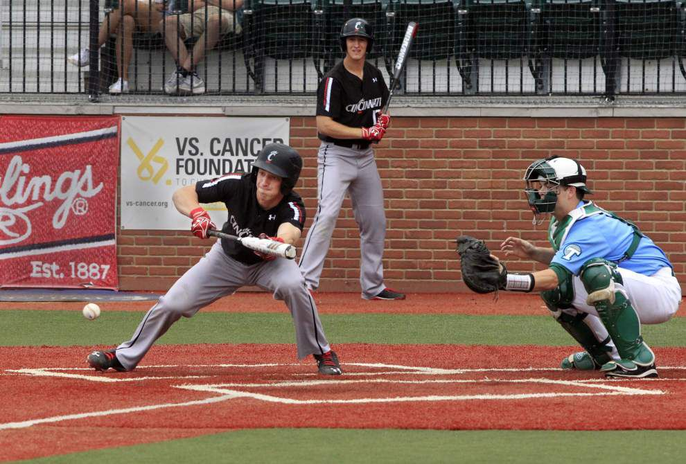 Cincinnati hands Tulane baseball its first series loss of the season _lowres