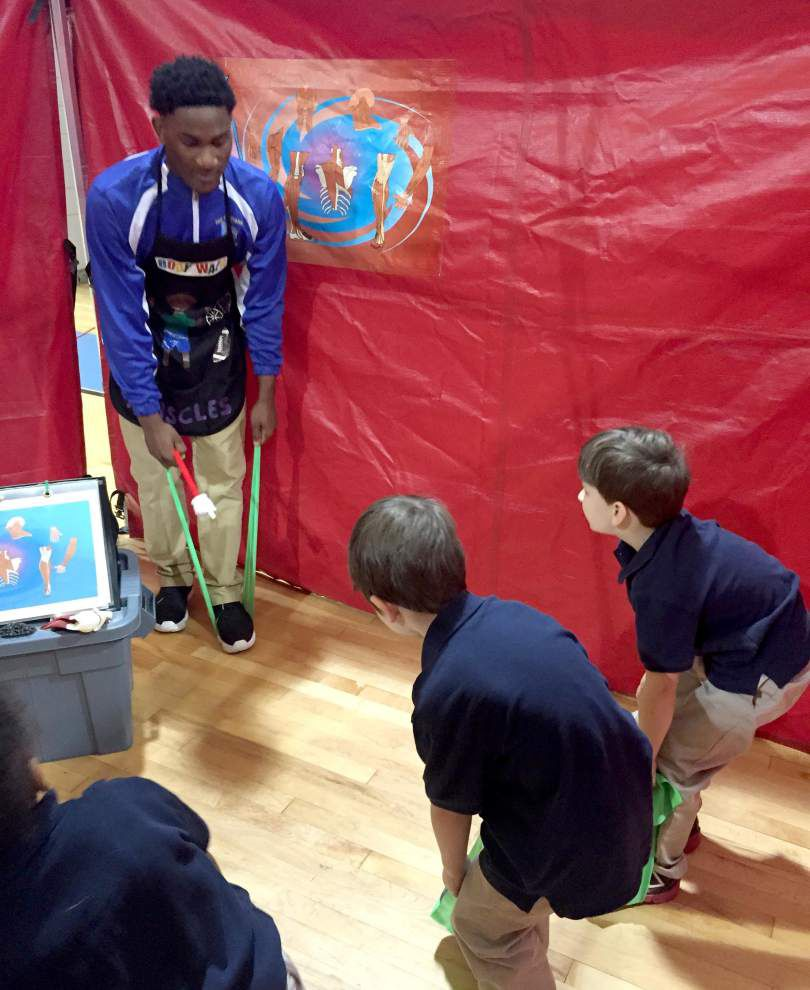 Body Walk gives students a healthy new perspective _lowres