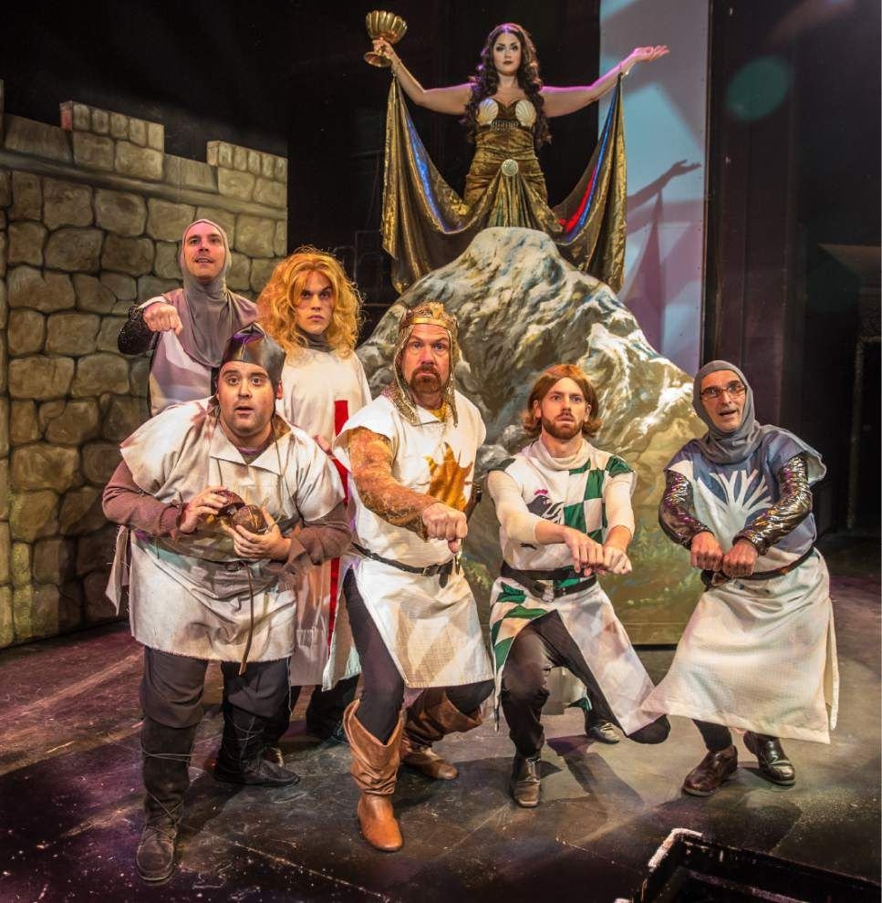 Monty Python fans will understand humor in Theatre Baton Rouge's production of 'Spamalot' _lowres