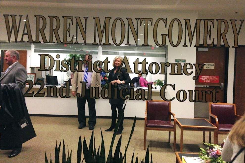 Warren Montgomery sworn in as DA in St. Tammany _lowres