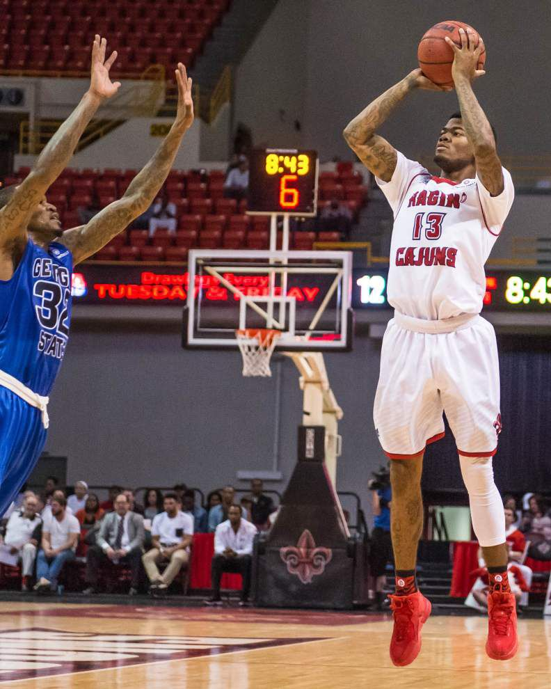 Cajuns can't shake off slow start in loss to Georgia State _lowres