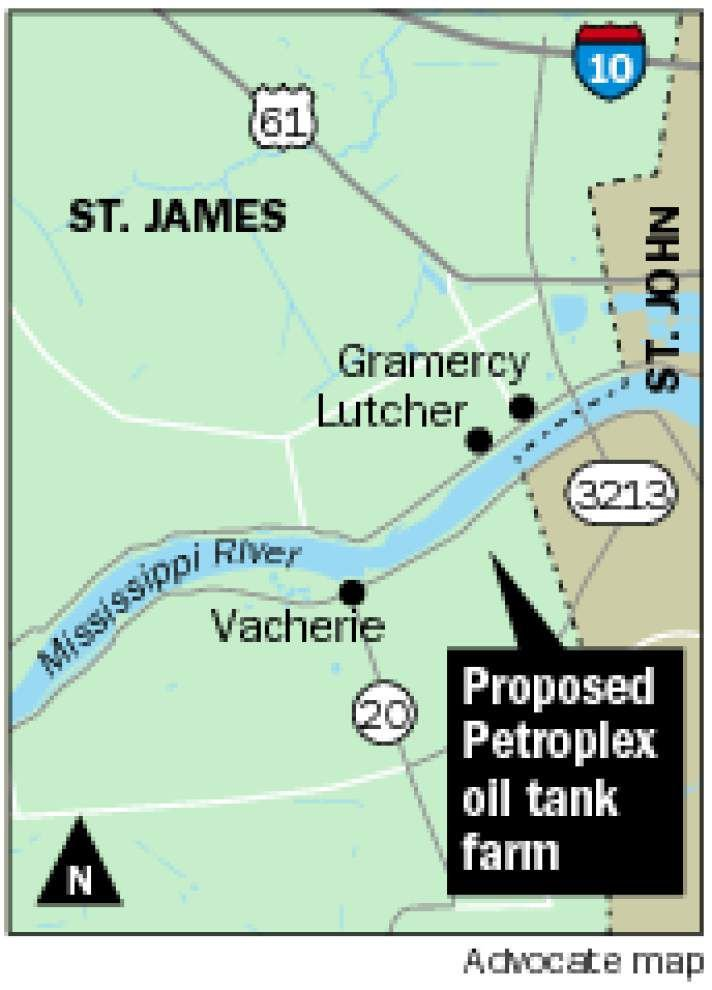 Location of former Petroplex tank farm proposal
