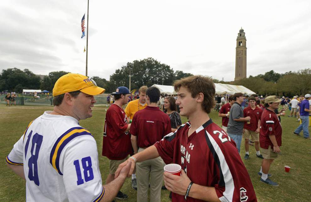 Students react to LSU's proposed tailgating changes: 'Enough is enough ... Leave us alone' _lowres