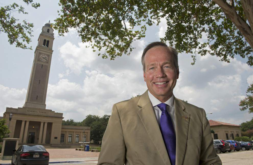 Video: LSU Chancellor F. King Alexander reflects on his first year _lowres
