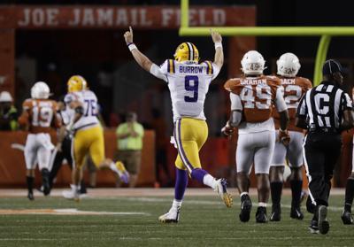 LSU Texas Football