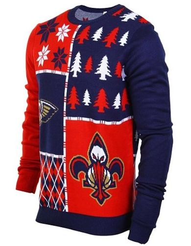 This ugly New Orleans Pelicans Christmas sweater is an abomination and everyone wants one_lowres