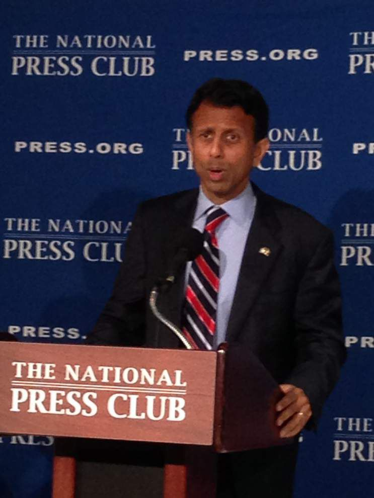 Gov. Bobby Jindal attacks Donald Trump as a narcissist, an egomaniac, 'a carnival act' _lowres