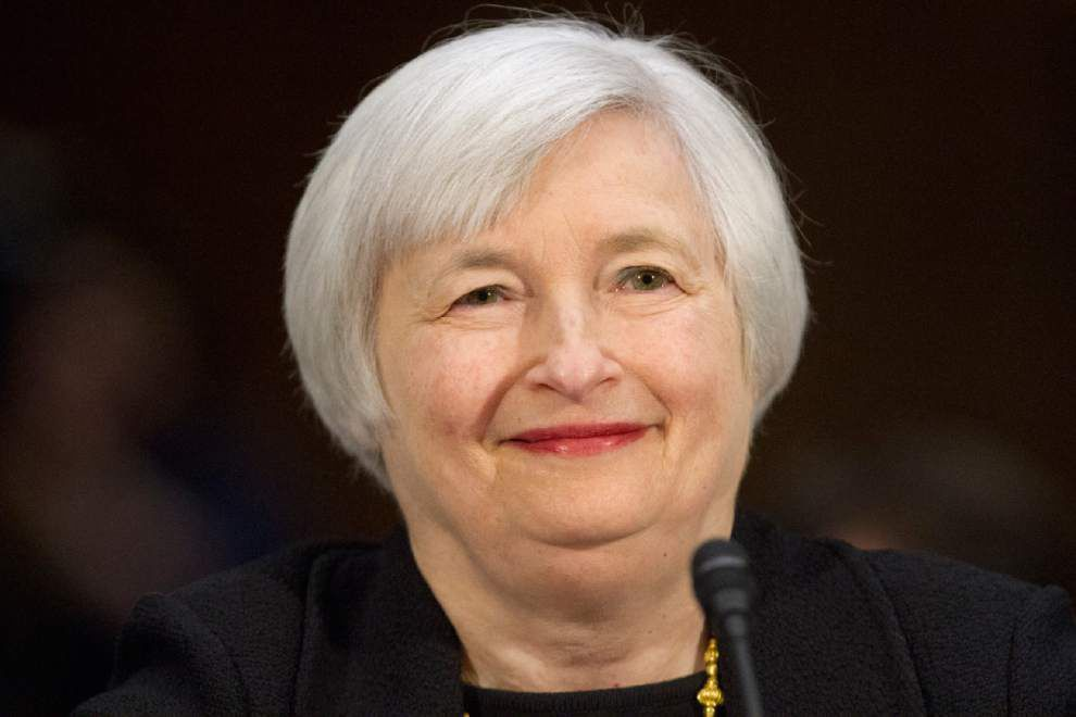 Yellen favors gender-neutral title of Fed 'chair' _lowres