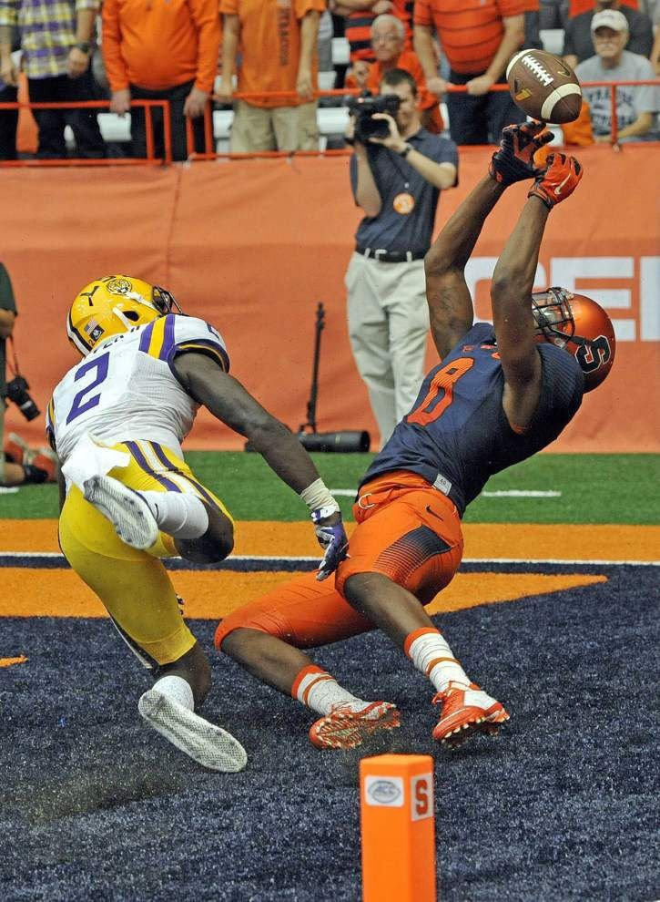 Stunning coverage busts prompt LSU defensive backs' vow 'to get it right' _lowres
