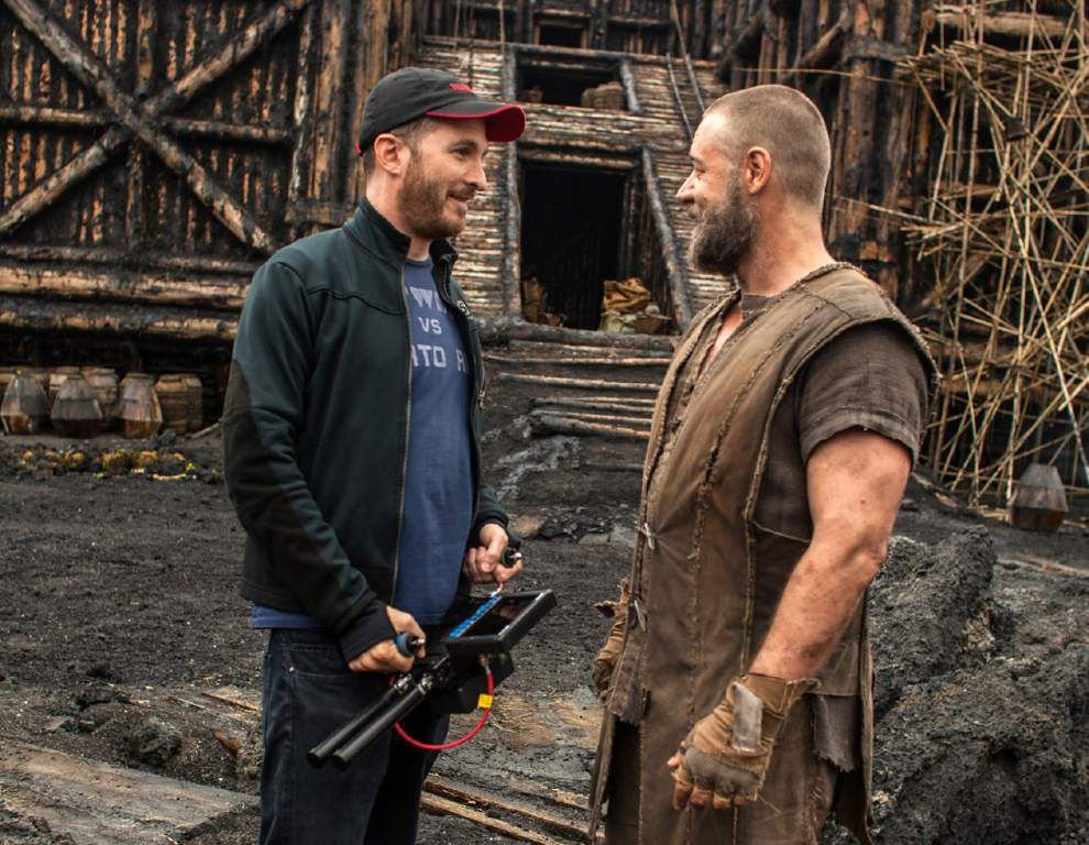 In Bible epic revival, 'Noah' finds rough seas _lowres