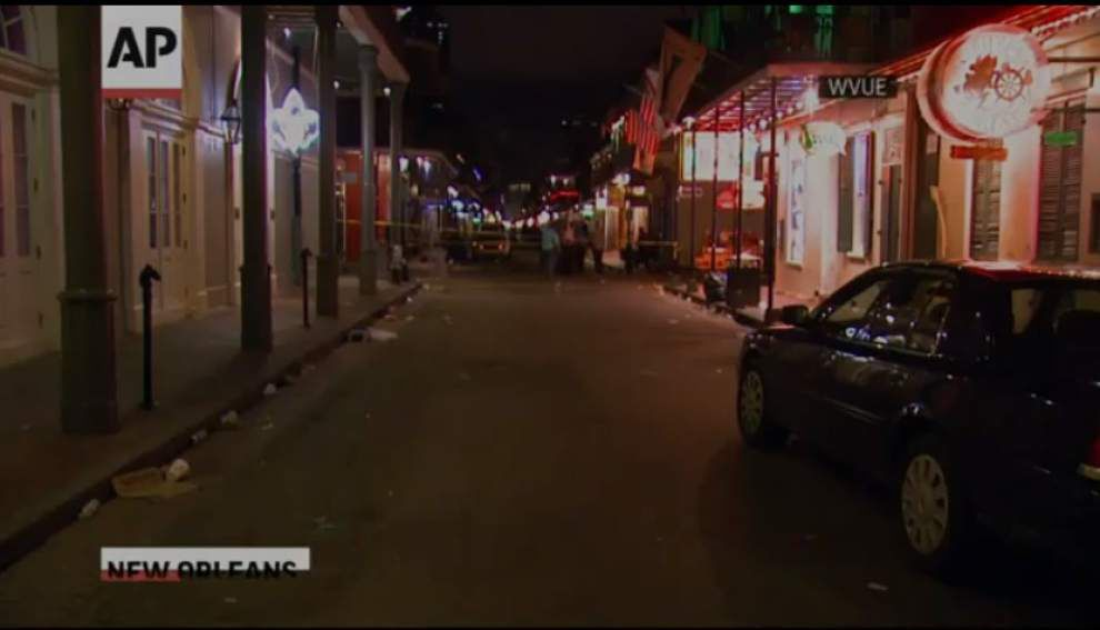 Video: AP report of Bourbon Street shooting _lowres