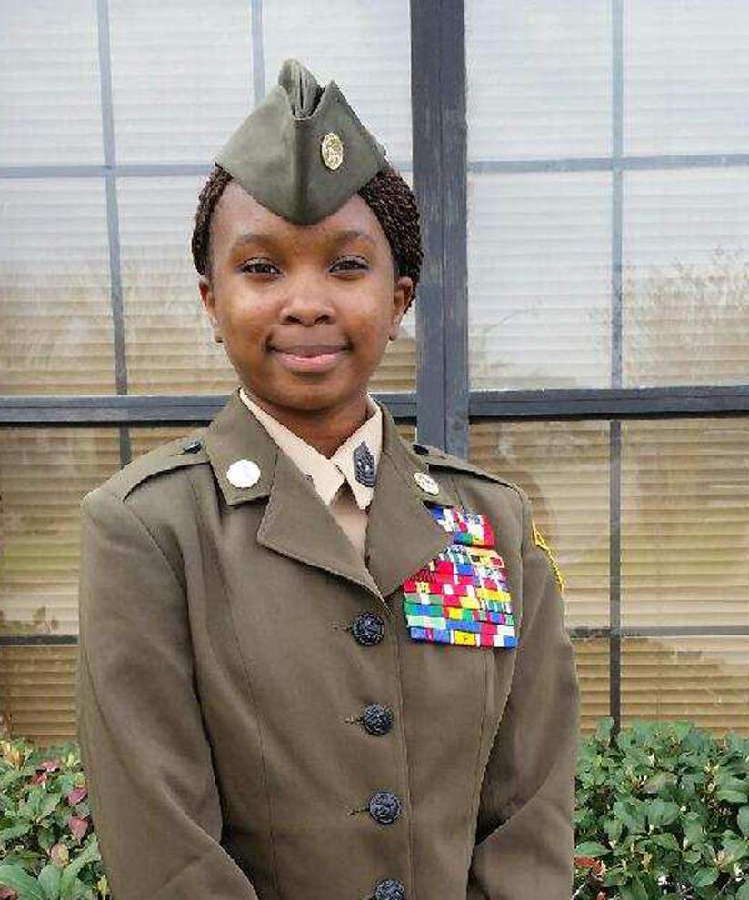 Around Jefferson: Harvey teen named Young Marine of the Year _lowres