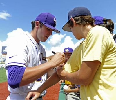 LSU notebook: Three years after watching from the stands, Alex Lange is the starting pitcher for the Tigers' critical regional matchup Saturday _lowres