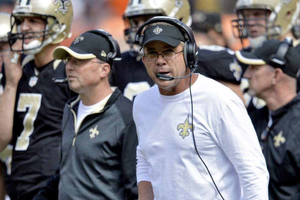 Video of Saints coach Sean Payton yelling at defensive coordinator Rob Ryan lights up Internet _lowres