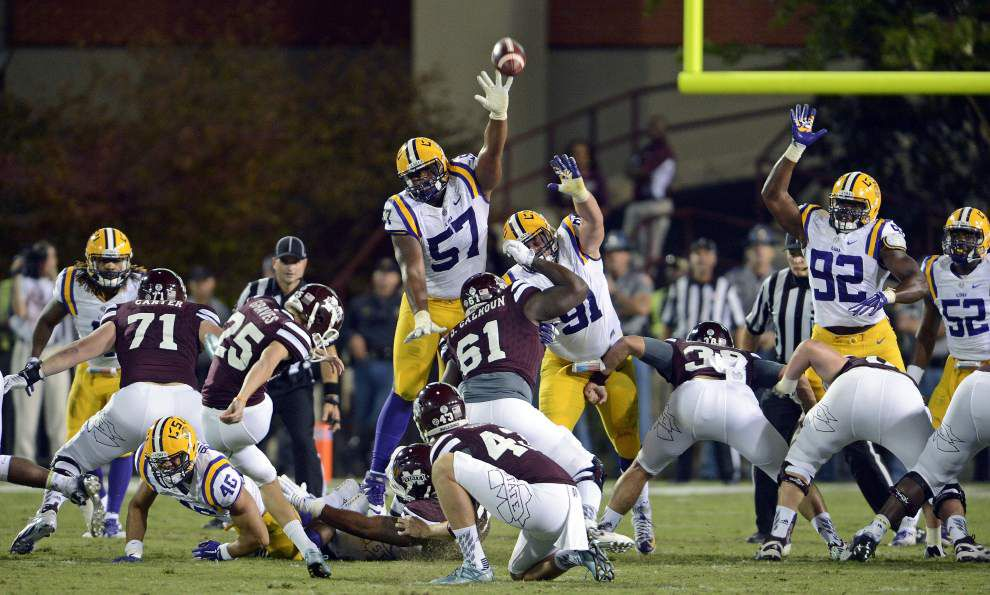 How they scored: LSU 21, Mississippi State 19 _lowres