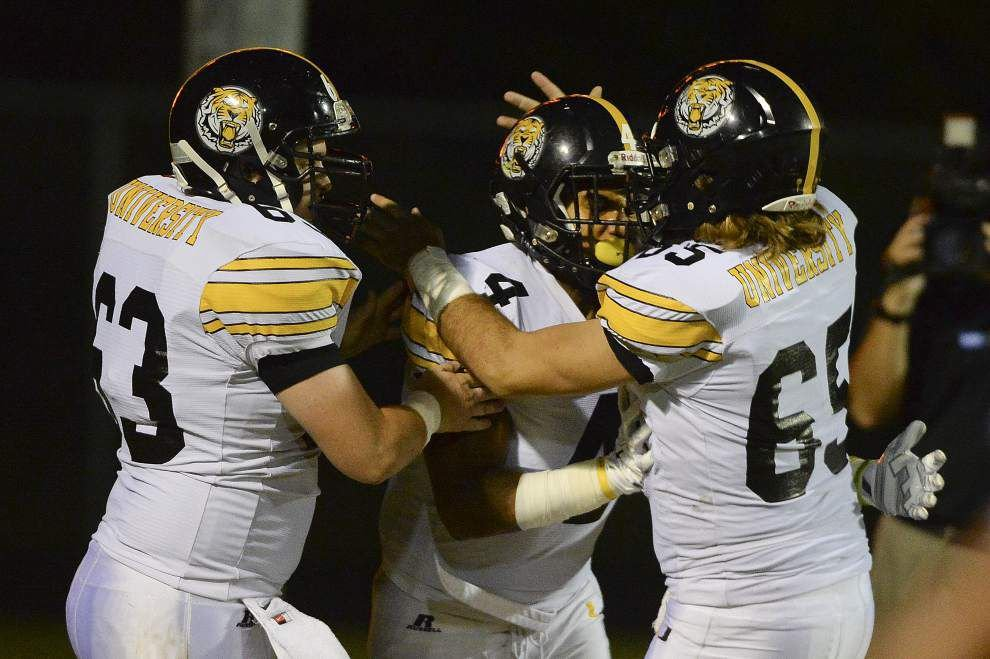 U-High RB Nick Brossette 9th nationally on career touchdown list _lowres