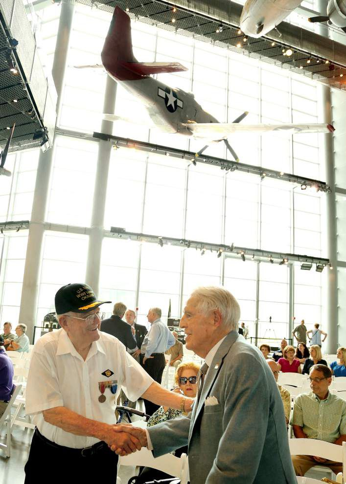 Still going strong 70 years later: National WWII Museum celebrates the veterans from V-J Day _lowres