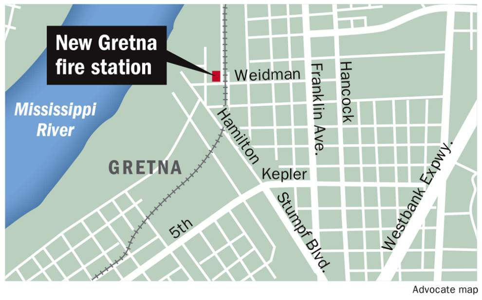 New Gretna fire station offers protection on the river side of railroad tracks _lowres