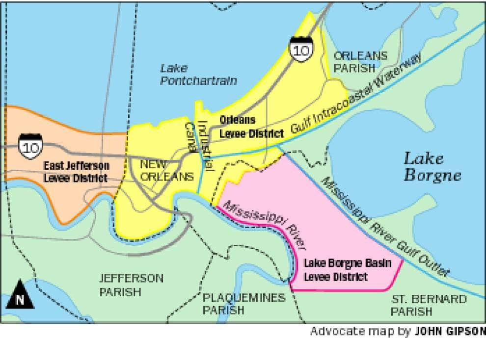 Tax vote in St. Bernard will affect flood protection across entire east bank _lowres