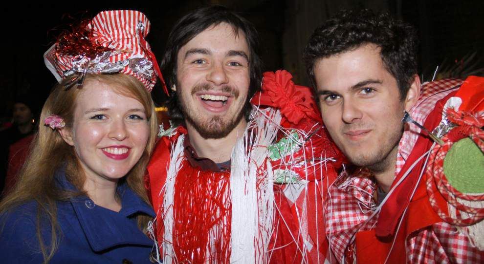Steven Forster's Pary Central: Krewe Delusion parade after-party _lowres