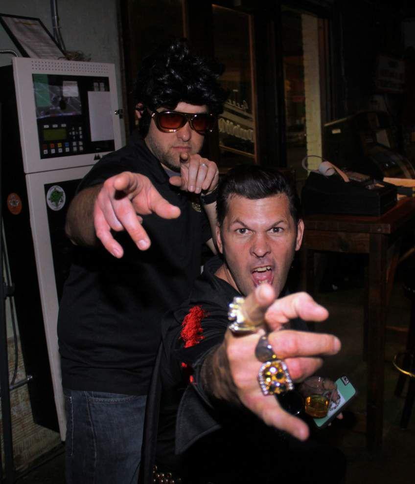 Steven Forster's Party Central: Krewe of Rolling Elvi celebrates that Lovin' Feelin' _lowres