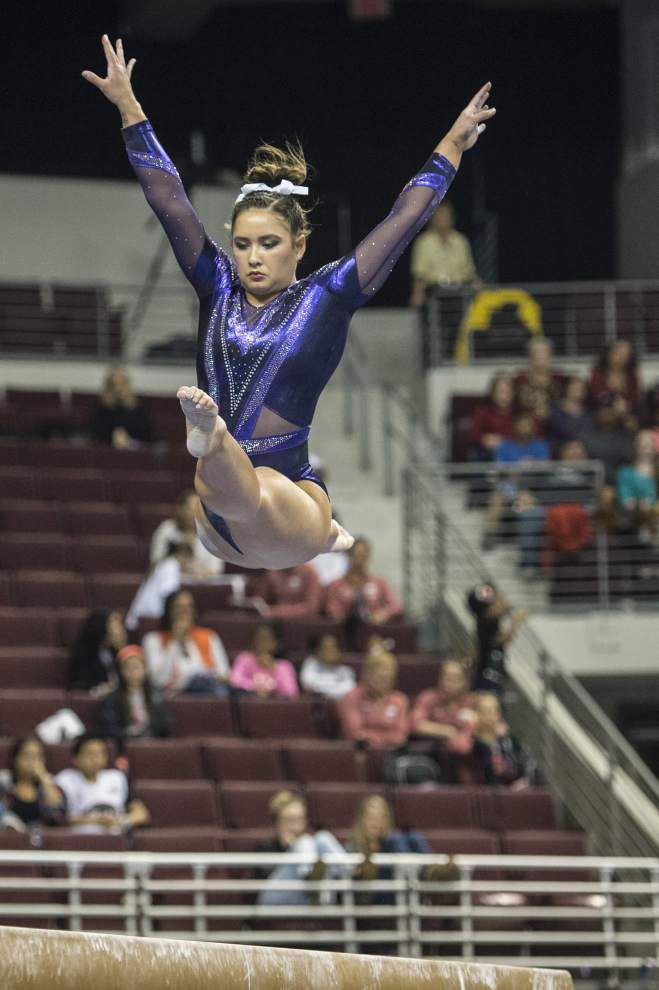 Scott Rabalais: SEC disappointment could be rallying point for LSU gymnasts _lowres