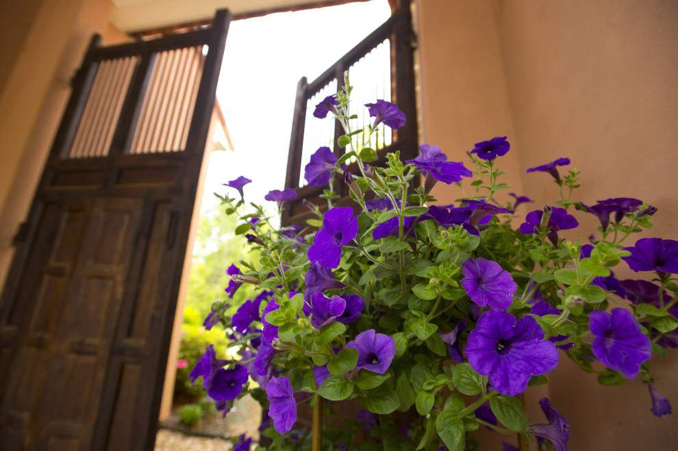 Flowering Felicianas: LeBlanc' Provence-inspired home and gardens featured on Spring Garden Stroll _lowres