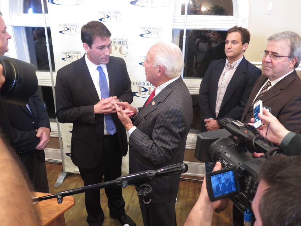 Edwin Edwards and Garret Graves call each other liars _lowres