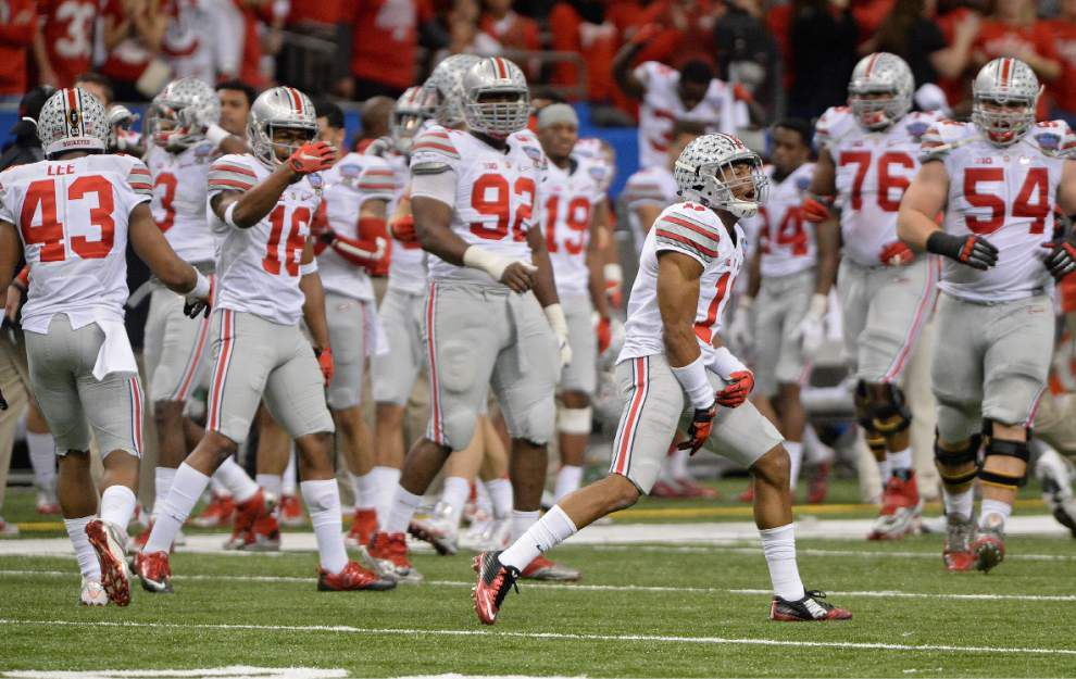 At a glance: The Saints' second second-round pick, Ohio State safety Vonn Bell _lowres