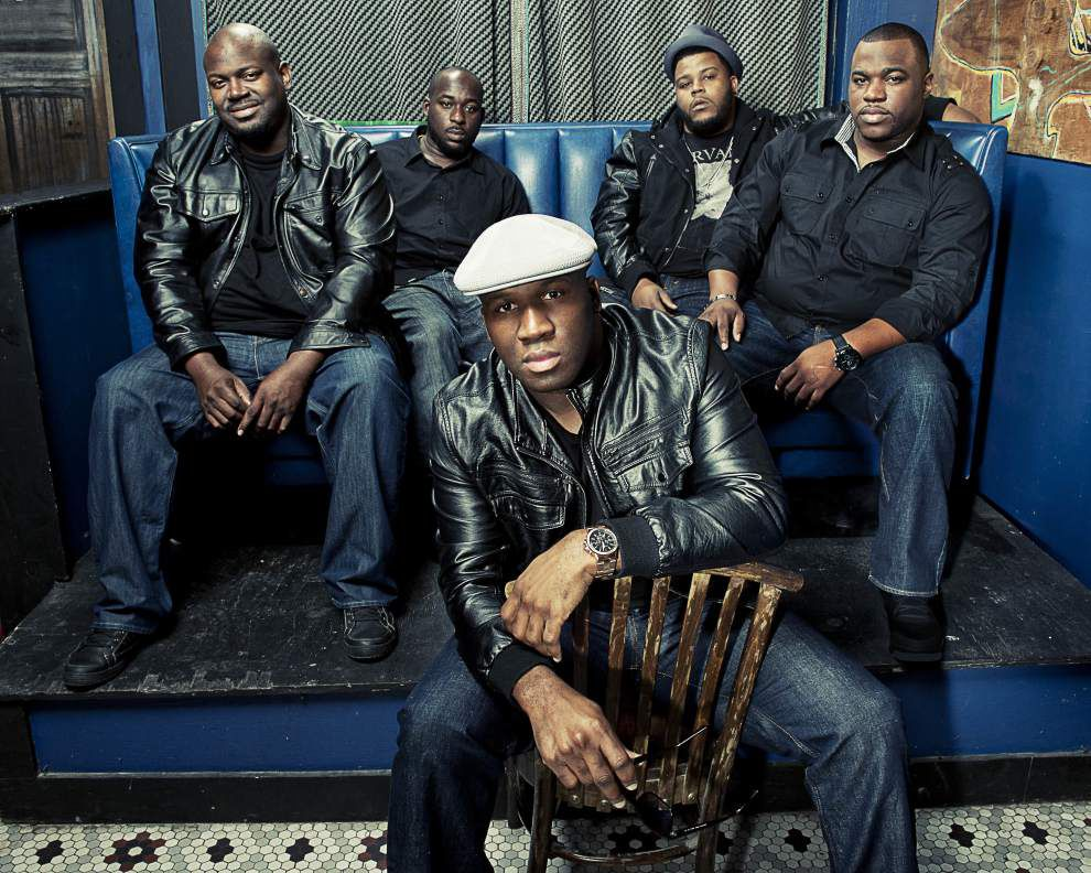 Big Sam's Funky Nation makes up for time lost to Jazz Fest storms _lowres