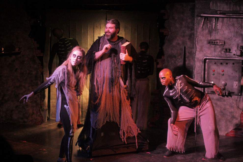 'Faustus' an ambitious take on Shakespeare-era drama _lowres