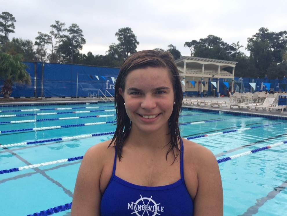 In the spotlight: St. Paul's Harrison Prieto, Mandeville's Heidi Fritscher among area's fastest in their signature events _lowres