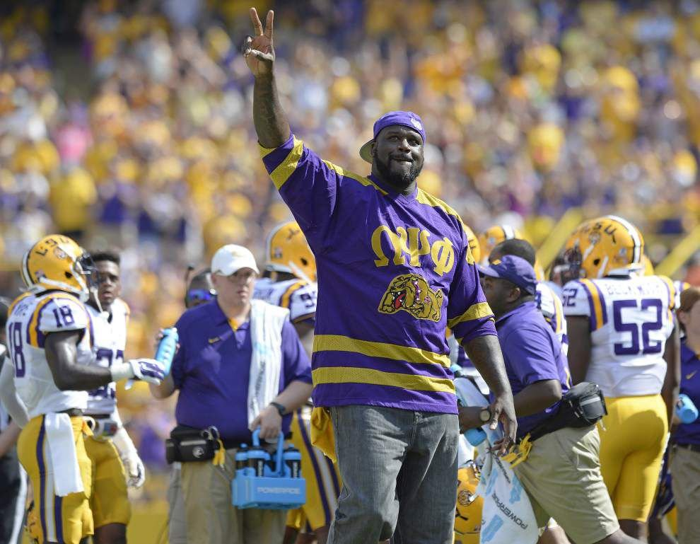 Report: Shaq says LSU should've paid Nick Saban more to stay, would be enjoying benefits now _lowres
