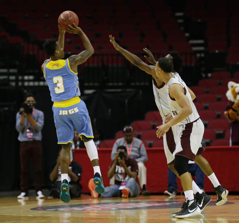 Southern men take down top-seeded Texas Southern 81-73 to reach SWAC title game _lowres