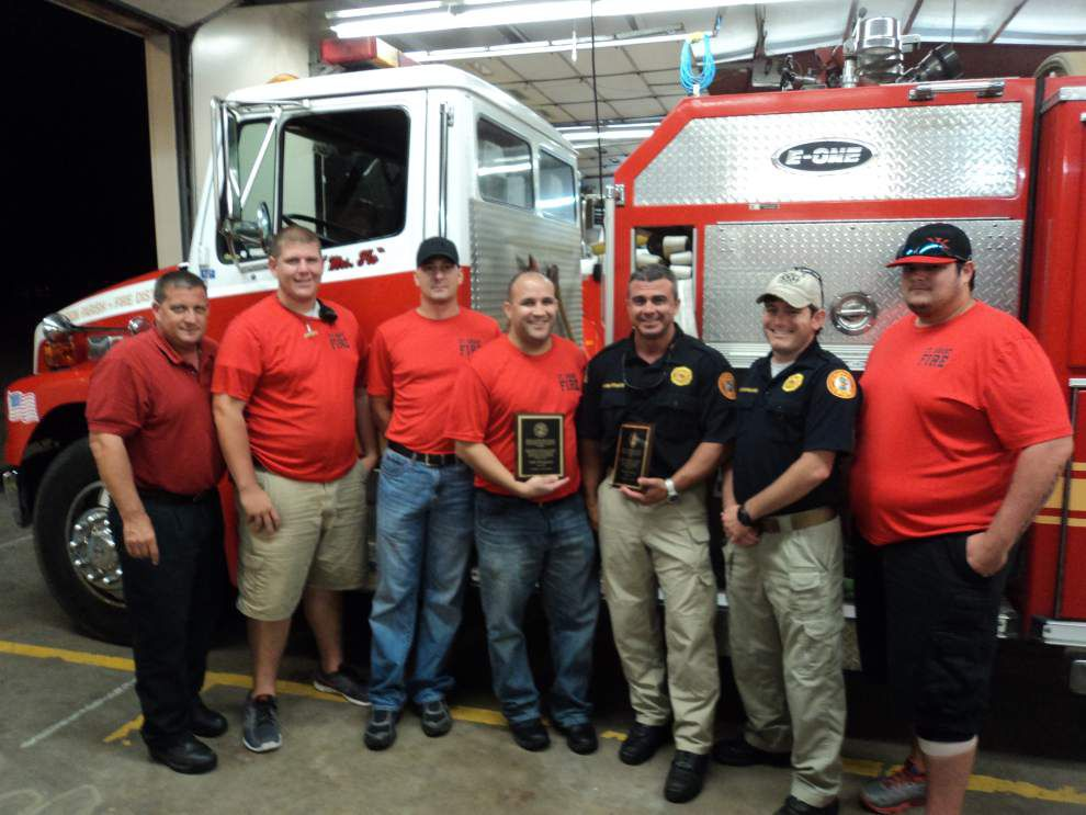 Assistant chiefs honored as firefighters of month _lowres