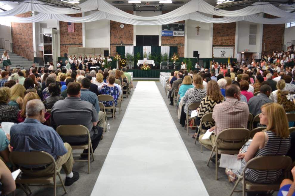 Archbishop Chapelle High School awards diplomas to 162 graduates _lowres