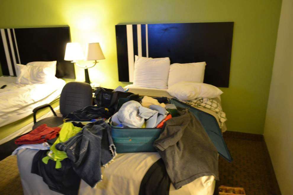 Photos: Inside Lafayette theater shooter John Russell Houser's motel room _lowres