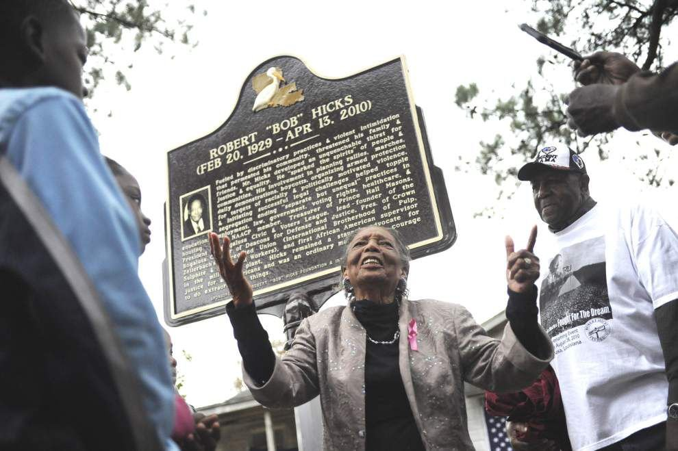 Civil rights era group helped protect black community _lowres