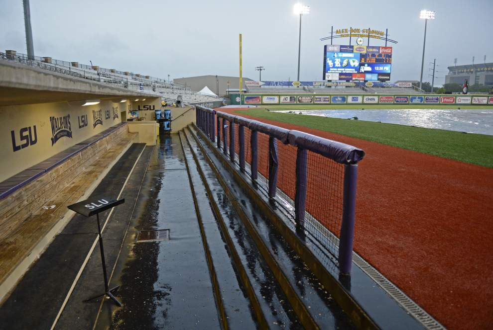 LSU baseball notebook: Rain delay a 'silver lining' for Kramer Robertson and his injured hand _lowres