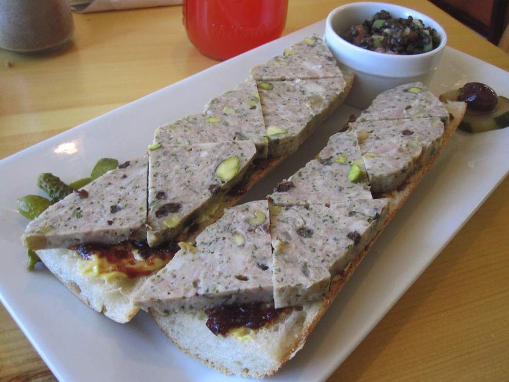 Digging In: Uptown bakery's sandwich is a picnic on a plate _lowres