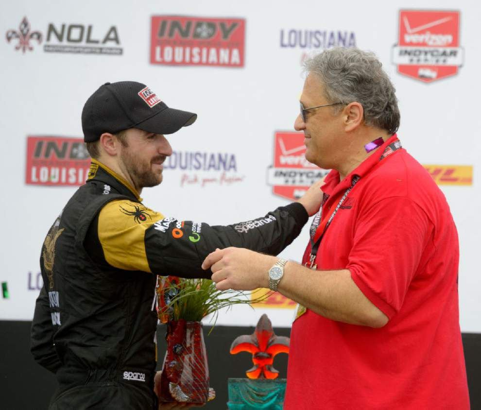 Photos: Race cars, confetti, big crowds, champagne (and a little rain) make for great scene at inaugural Grand Prix of Louisiana _lowres