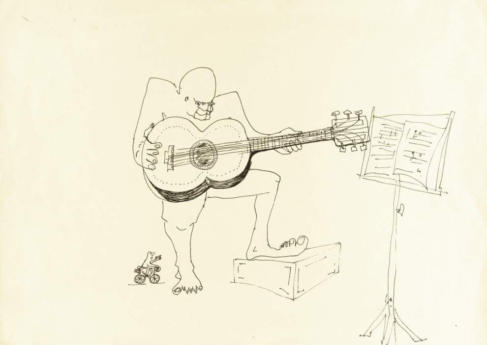 John Lennon book art, poems going to auction _lowres